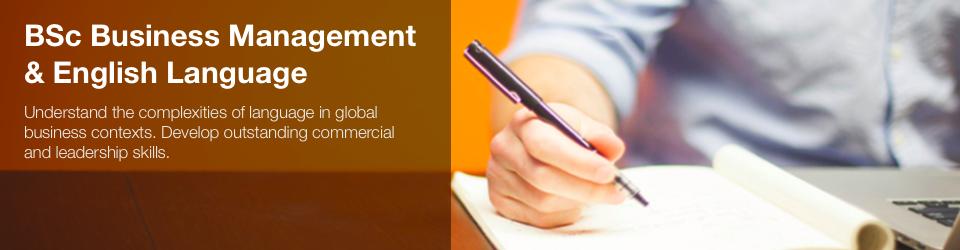 Business Management and English Language at Aston